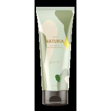 [NATURIA] Скраб для тела ЗЕЛЕНЫЙ ЧАЙ Creamy Oil Salt Scrub Green Tea, 250 гр.
