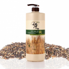 [ENOUGH] Шампунь-кондиционер 2 в 1, 6 Grains mixed hair shampoo & rinse, 1000 мл.