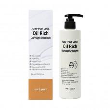 [Trimay] Безсульфатный шампунь с натур. маслами, Anti-Hair Loss Oil Rich Damage Shampoo, 300 мл.