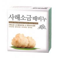 [MUKUNGHWA] Скраб-мыло для тела и лица СОЛЬ МЕРТВОГО МОРЯ, Dead sea mineral salts body soap, 100 гр.