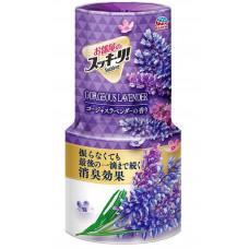 """Earth"" ""Sukki-ri!"" Жидкий дезодорант-ароматизатор для помещений с цветочным ароматом, 400 мл."