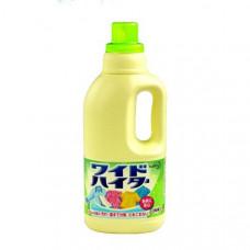 """KAO """"Wide Haiter"""" Жидкий кислородный отбеливатель для белого и цветного белья, 1000 мл."""