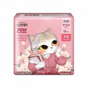 """Прокладки """"SECRET DAY"""", Love Pink 245 mm - 16 P"""